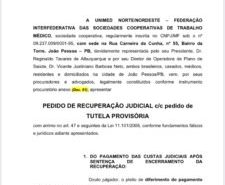 Crise: Unimed Nordeste pede recuperação judicial