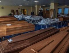 Terror: Estados Unidos registram 1.169 mortos pela covid-19 em 24 horas