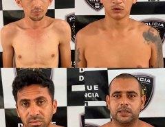 PRESOS: PRF prende quatro homens com armas, drogas e coletes balísticos na BR 304 no município de Lages no RN