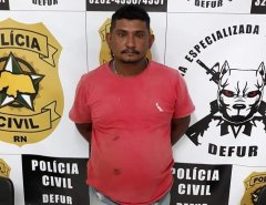 Polícia Civil prende suspeito de roubos a fazendas no interior do RN