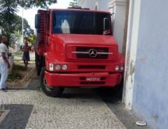 Em Mossoró motorista de caminhão morre após ser atropelado pelo próprio veiculo no Centro da Cidade