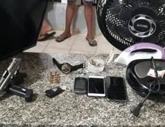 Em Mossoró Trio de bandidos  é preso em ação policial após praticar arrastão em residência no Conjunto Parque Universitário