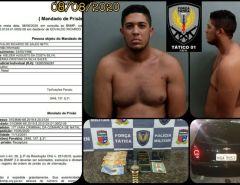 Natal: Policiais Militares da Força Tática do 4°BPM capturam foragido da Justiça na Zona Norte