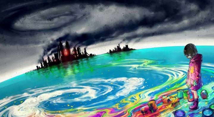Gambar Pencemaran Air