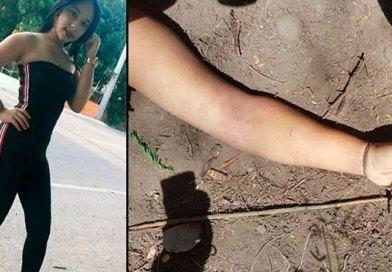 FOTOS DESGARADORAS Encuentran joven muerta en un monte de Cruce de Ocoa