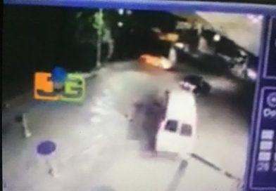VIDEO: Captado en cámara DNCD agrade médicos Santiago