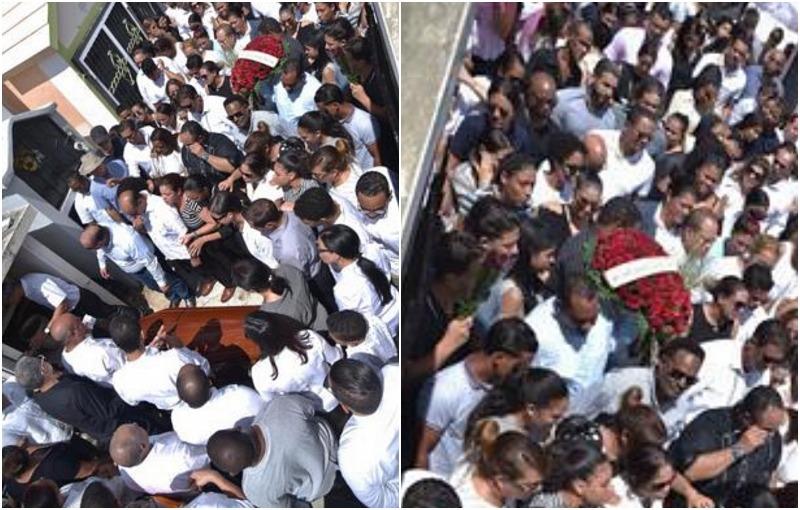 SFM sepultó bajo lágrimas a jóvenes que murieron en accidente ocurrido en La Vega –