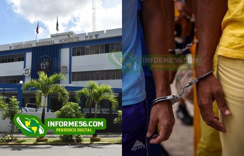 Apresan a tres hombres acusados de robar un inversor en SFM –