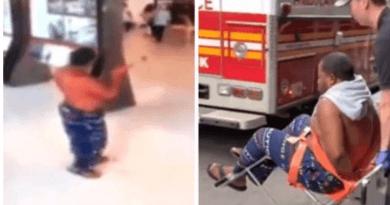 VIDEO: Hombre con espada desató pánico en el Empire State Building de NY