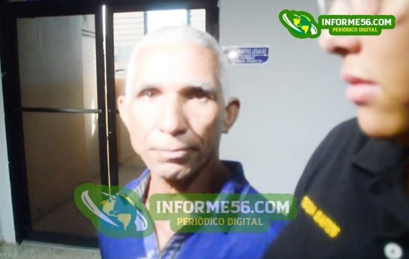 """(Video) Don acusado matar menor en SFM: """"No tengo nada qué decir, !Estoy preso y ya!"""" –"""