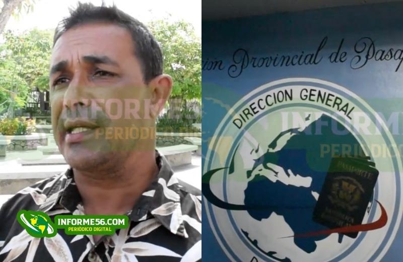Video: Hombre que vive en Bonao denuncia deficiencias oficinas de Pasaporte en SFM –