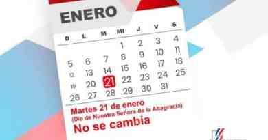 """Feriado del Día de la Altagracia """"no se cambia"""" y se paga doble"""