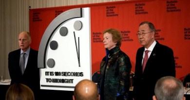 Los científicos avanzan el Reloj del Apocalipsis a 100 segundos antes de la medianoche
