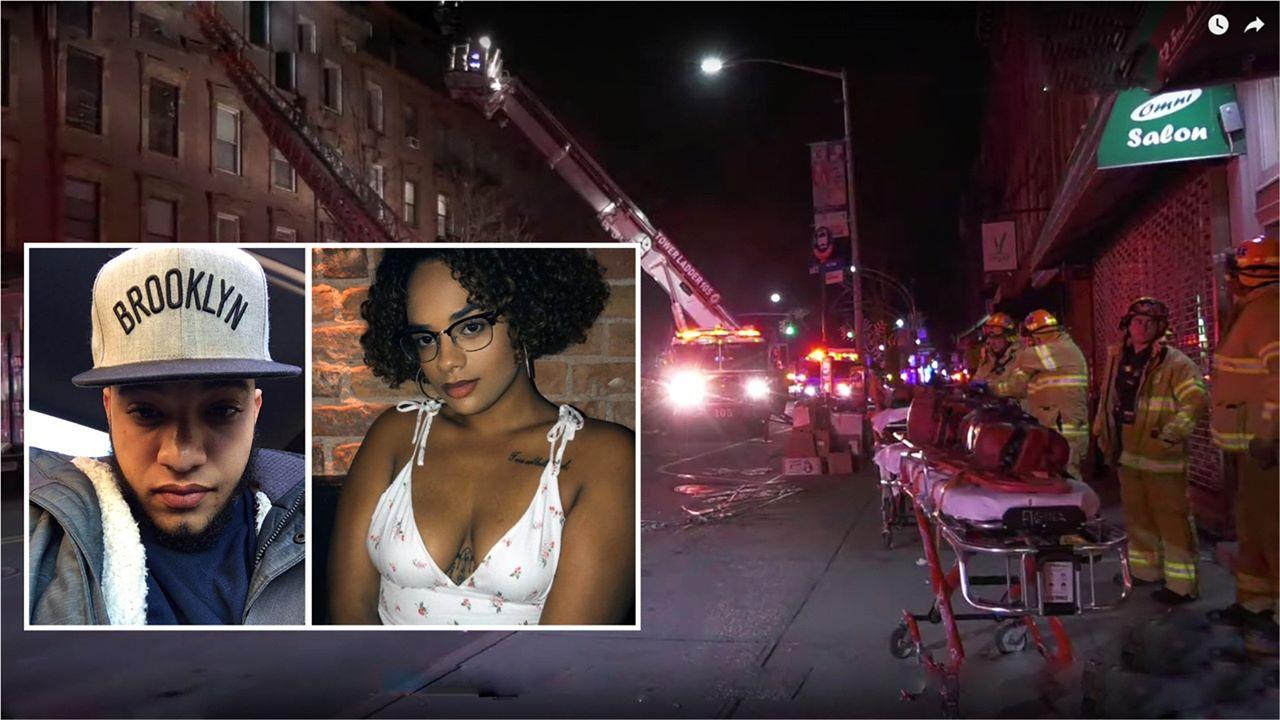 Aspirante a bombero dominicano y pareja mueren en incendio en un edificio de Brooklyn – .