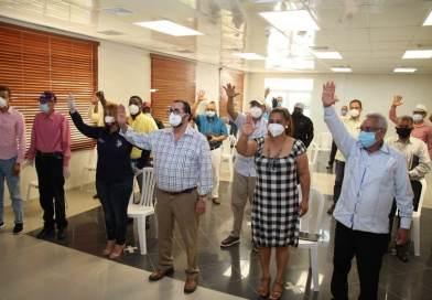 Escogen Amílcar para presidir la coordinación de la Campaña PLD en la provincia Duarte
