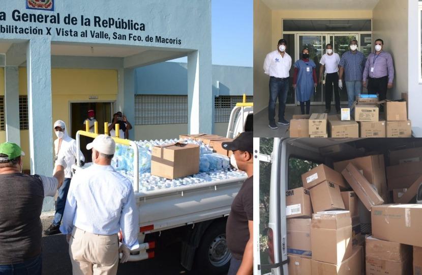 Comunidad Rizek y CRD aportan más aporte para cubrir coronavirus, suplen a militares y policías – .