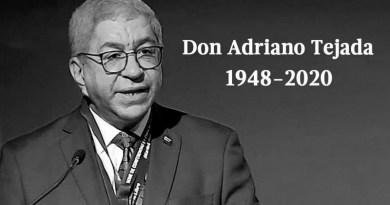 Muere Don Adriano Miguel Tejada, exdirector de Diario Libre
