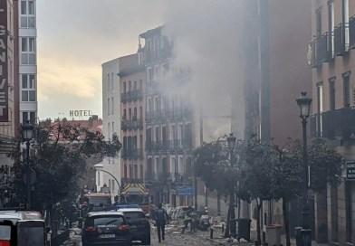 Video   Gran explosión deja muertos y heridos en Madrid