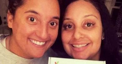 Mejores amigas dominicanas descubren que son hermanas biológicas