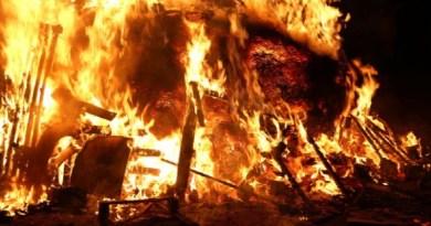 Mueren dos personas carbonizas tras incendios en Esperanza y Dajabón