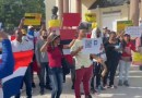Protestan contra la 'vacuna obligatoria'
