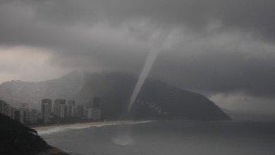 Foto de Tempo muda nessa quinta com alerta de ciclone Kurumí no Rio de Janeiro.