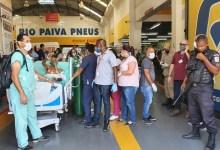 Foto de Incêndio atinge o Hospital Federal de Bonsucesso