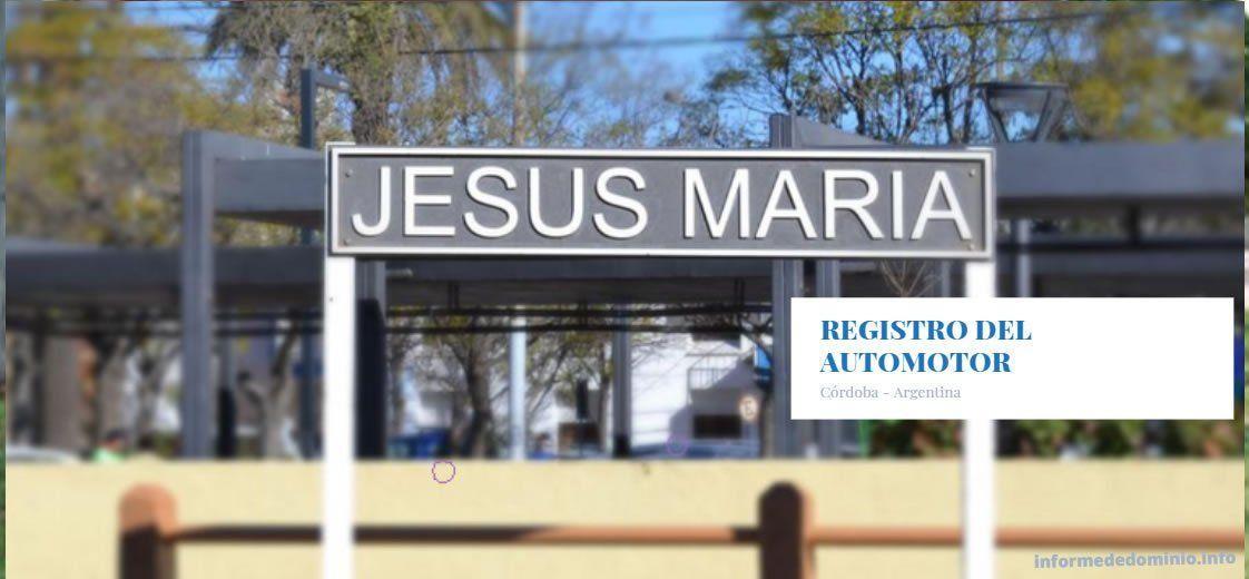Registro Automotor Jesús María