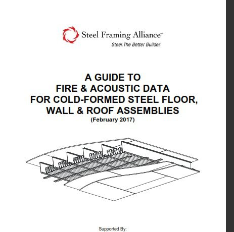 "SFA updates ""A Guide to Fire and Acoustic Data for Cold"