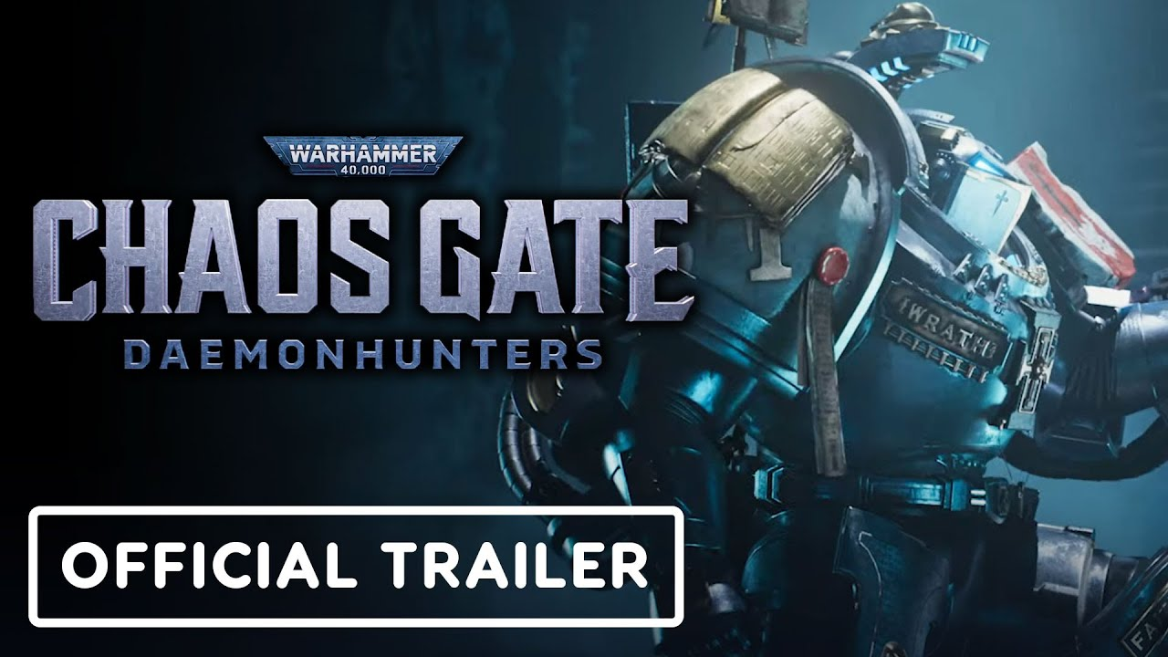 Warhammer 40K Chaos Gate Cinematic Trailer Released!