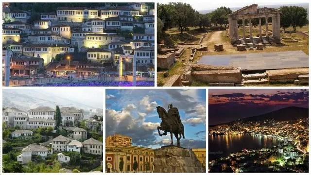Qytetet shqiptare me zemër më …