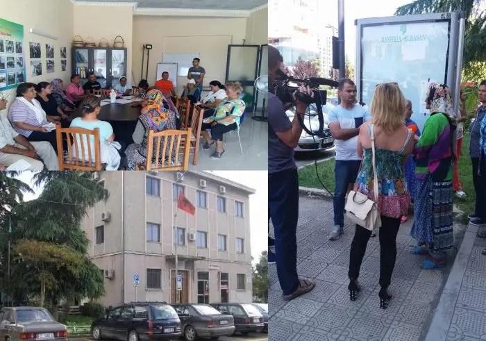 Familjet egjiptiane dhe rome akuzojne bashkinë Elbasan për mos transparencë.