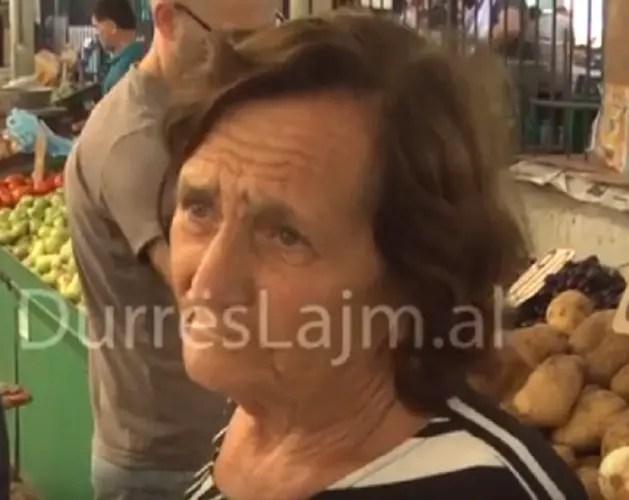Pensionistja në Durrës me 5 200 lekë të vjetra në treg. Çfarë mund të blejë?