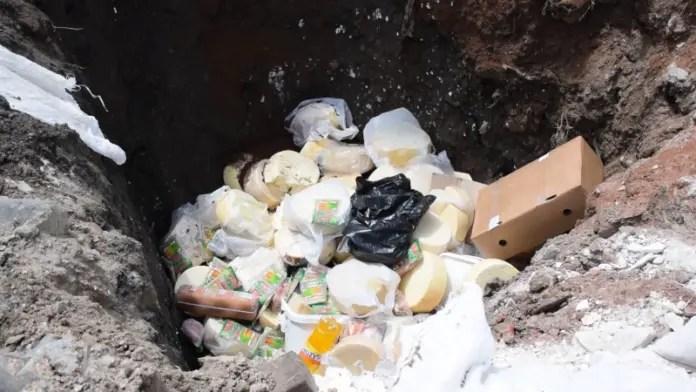 Korçë:  AKU asgjëson 20 ton ushqime të skaduara