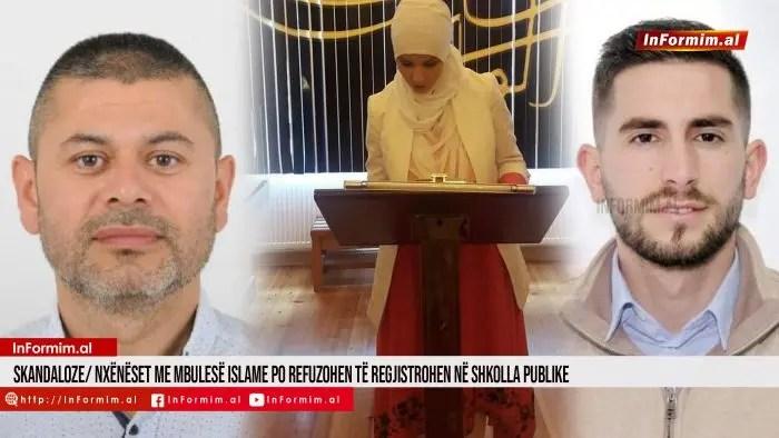 Skandaloze/ Nxënëset me mbulesë islame po refuzohen të regjistrohen në shkolla publike