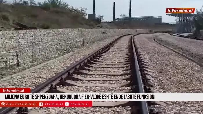 Miliona euro të shpenzuara, hekurudha Fier-Vlorë është ende jashtë funksioni.