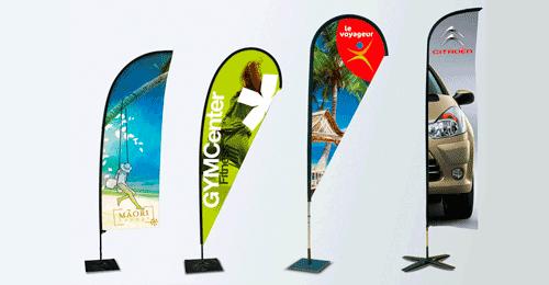 Impresión de banderolas publicitarias baratas santander cantabria