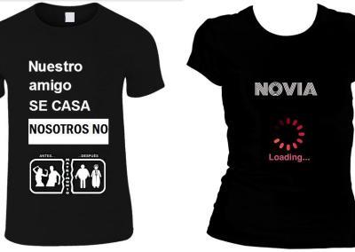 Camisetas para despedidas