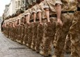 Column-of-British-soldiers-marching