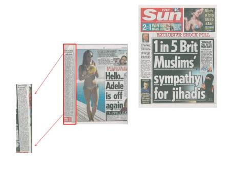 The Sun's Published Correction
