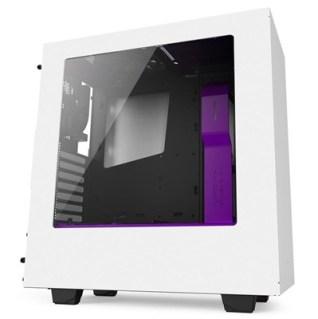 NZXT Caja SemiTorre S340 Black-Morada