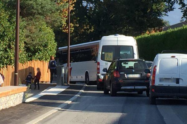 Aménagement d'un nouvel arrêt de bus pour le groupe scolaire Excenevex-Yvoire