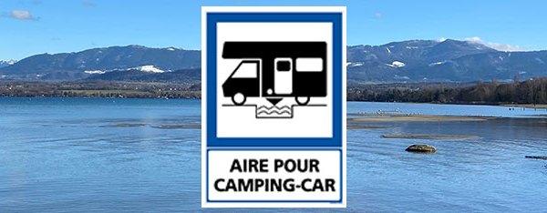 Aménagement d'une aire de camping car