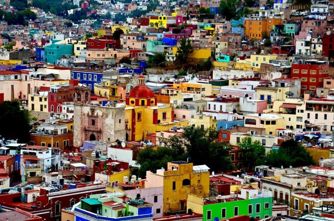 most colorful city in the world