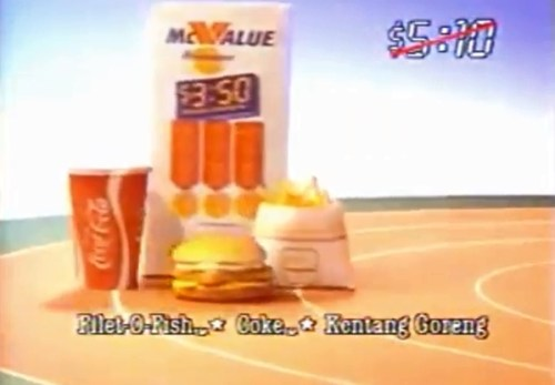 McValue Set dengan Filet-O-Fish