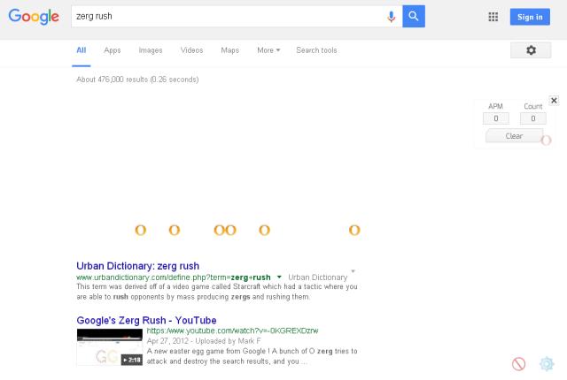Menarik di Internet Google trick