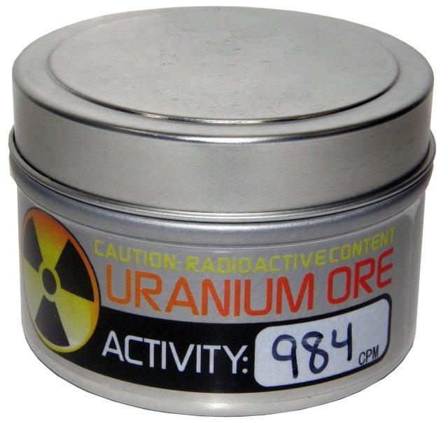 Uranium di jual