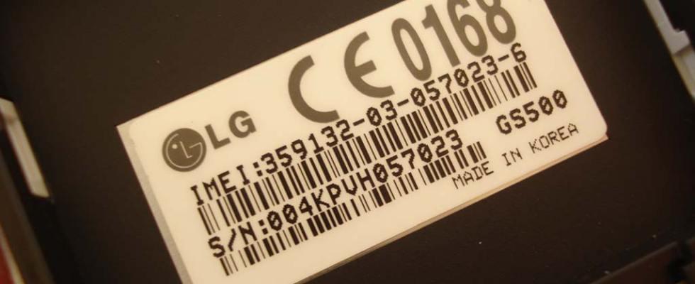 nombor imei pada handphone