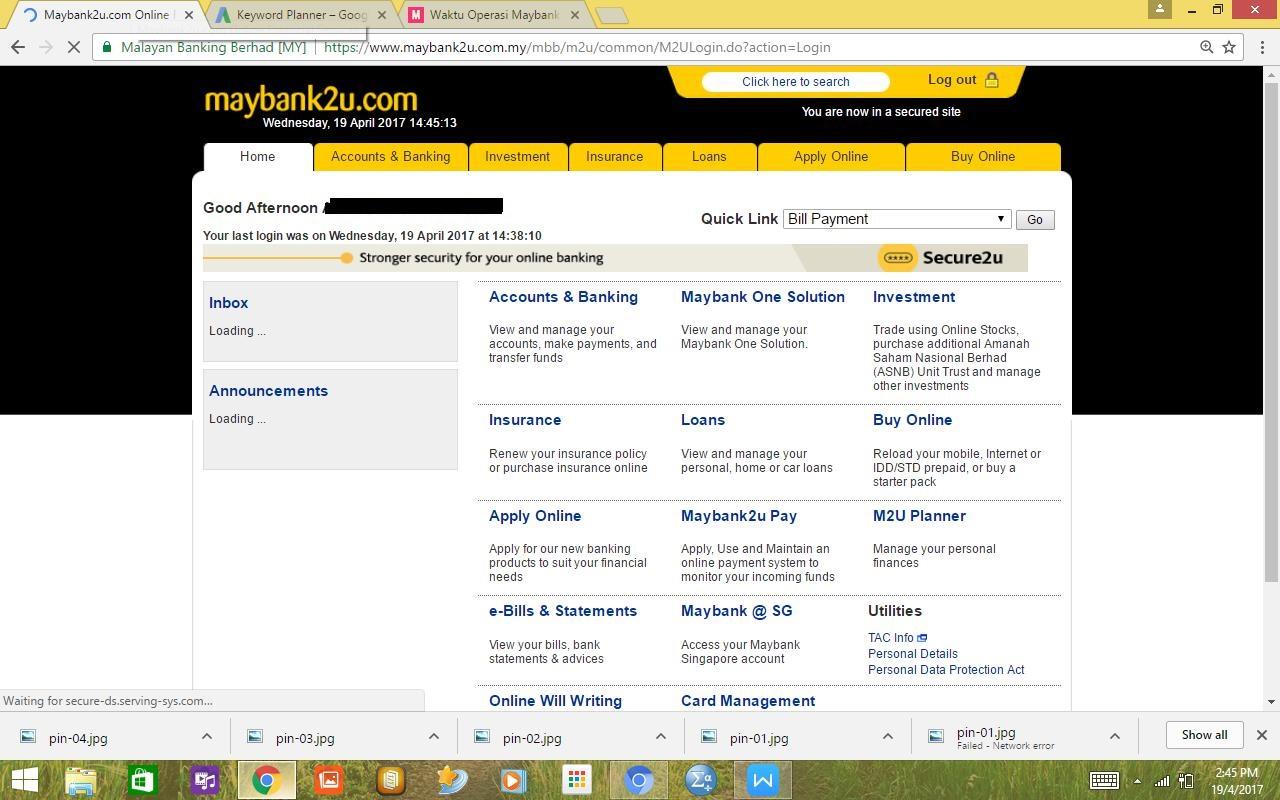 Mb2u login tutorial cara buat maybank2u secara online for Mercedes benz bank login