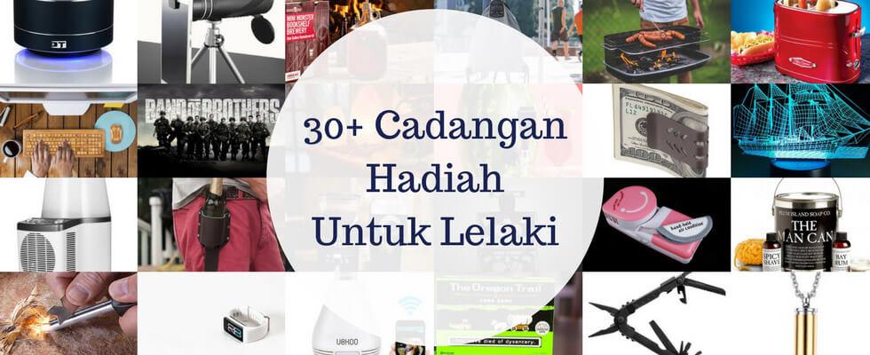 30+ Cadangan Hadiah Untuk Lelaki yang Unik dan Menarik
